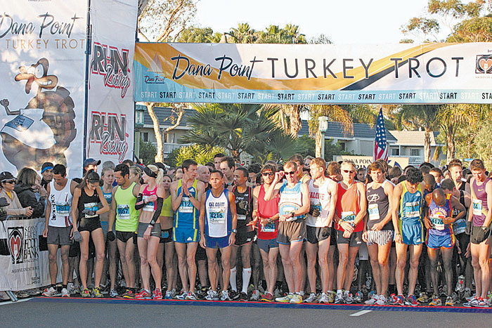 Dana Point's Turkey Trot to Benefit Local Marines