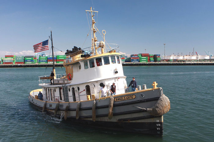 Angels Gate Receives Tugboat of the Year Award