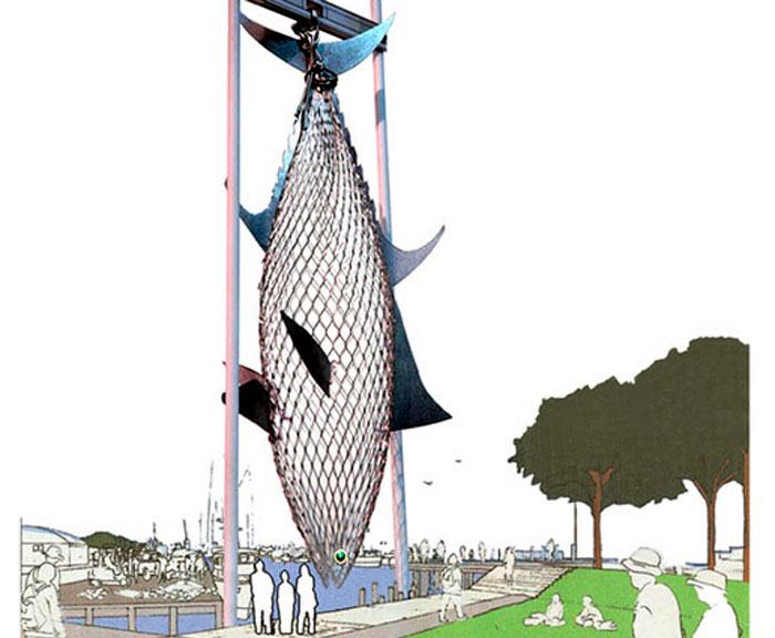 40-foot Tuna Sculpture Planned for San Pedro