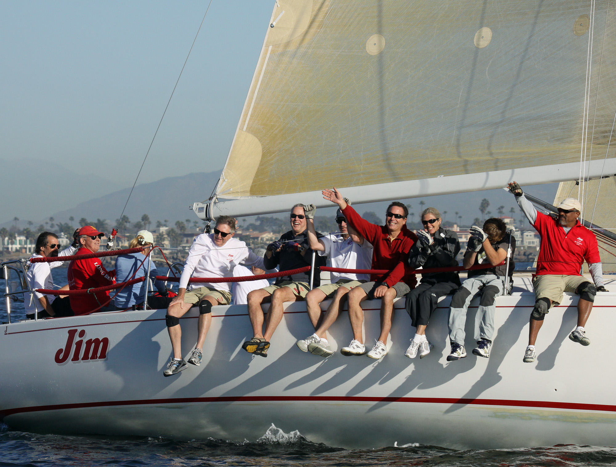 John Snook Holds off Big Boats in Two Gates Pursuit Race