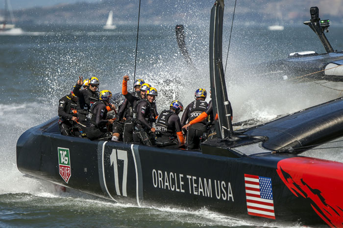 Oracle Team USA Wins America's Cup Race 16