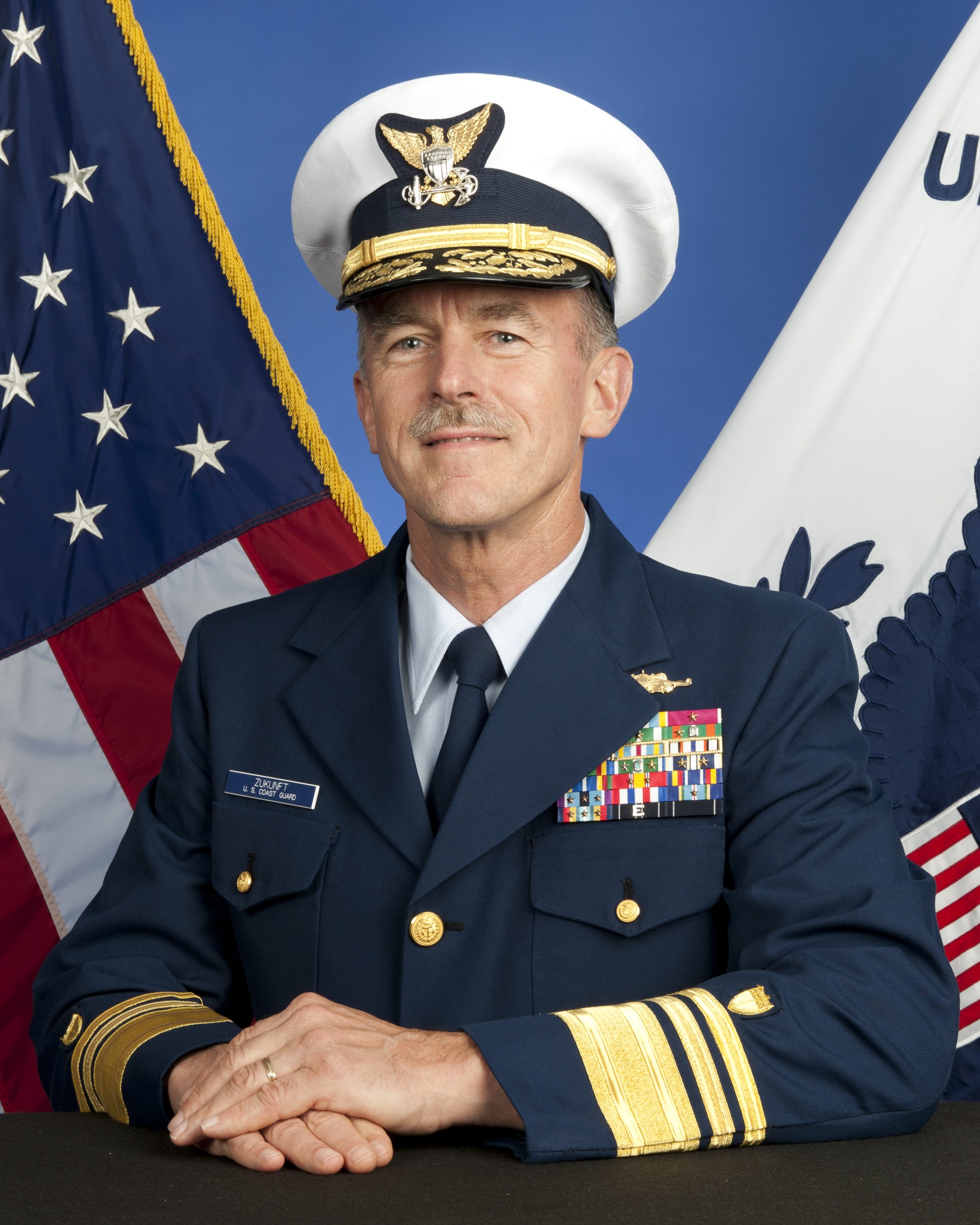 President Obama Picks Vice Adm. Zukunft as next Coast Guard Commandant