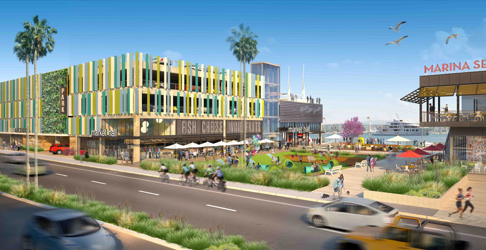 Developers offer preview of new Marina del Rey's Fisherman's Village
