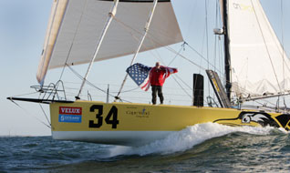 Van Liew Wins Velux 5 Oceans Solo Round-the-World Race
