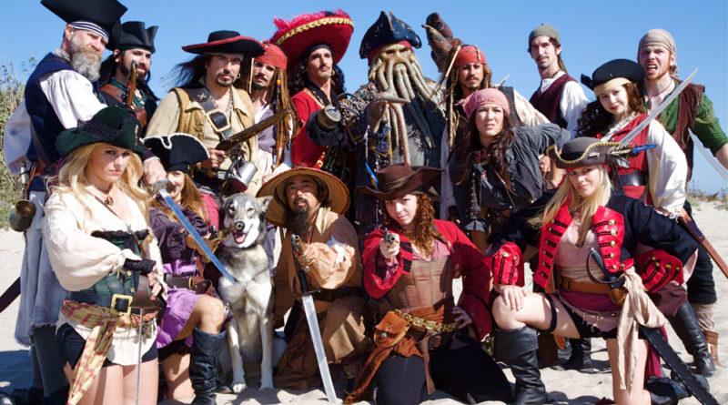 Pirates invade Ventura Harbor, July 18-19