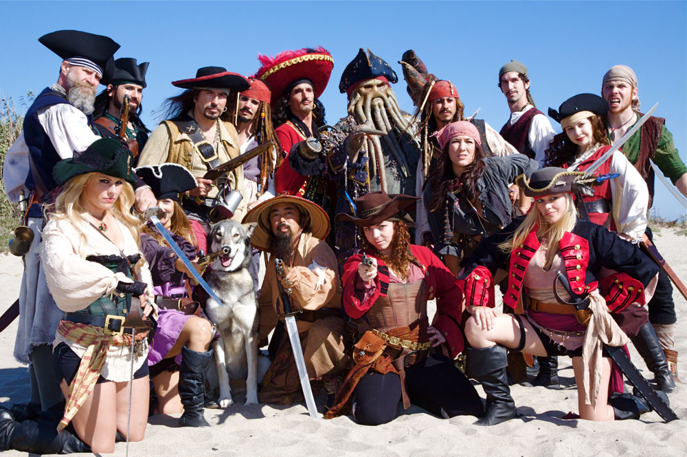 Pirates invade Ventura Harbor, July 18-19
