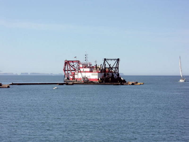 Fed Dredging Fund Cuts Threaten Ventura Harbor