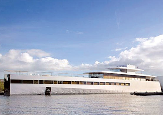 Steve Jobs' Final Project: A Superyacht