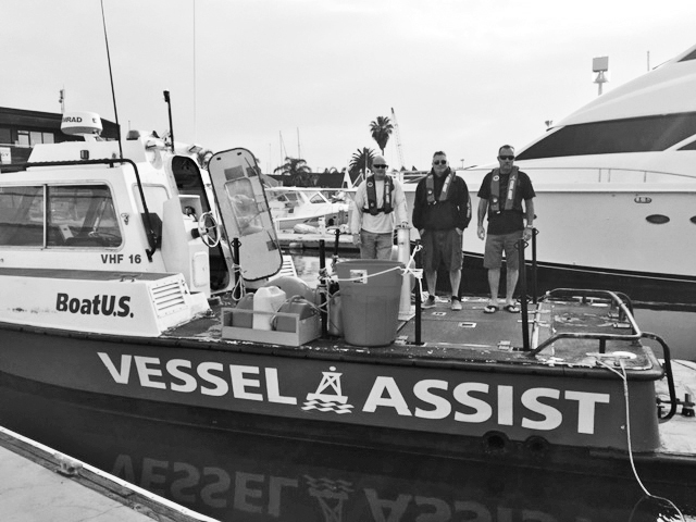 Vessel Assist's Brett Thompson honored with Woody Pollack Award