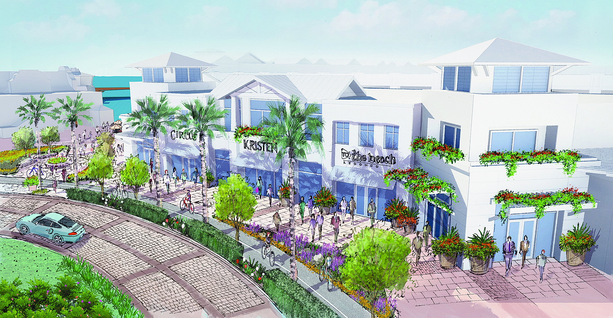 Board of Harbor Commissioners discusses Ports O' Call Village