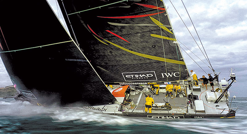 Abu Dhabi Wins Leg 7 in Volvo Ocean Race