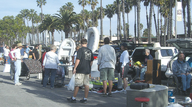 Long Beach 'Sailing Chicks' Host Marine Swap Meet, May 12