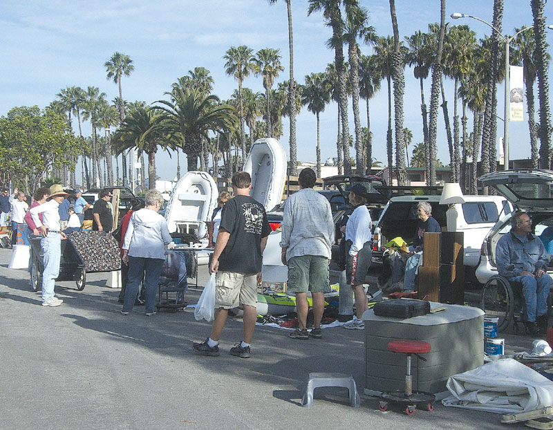 Long Beach 'Sailing Chicks' Host Marine Swap Meet, May 12