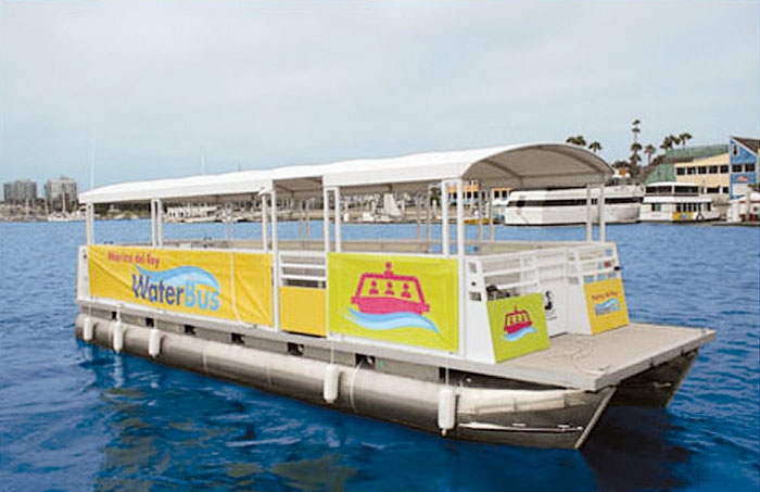 Marina del Rey WaterBus Back in Action