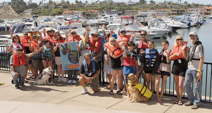 Balboa Sail and Power Squadron Hosts 'Ready, Set, Wear It' Event