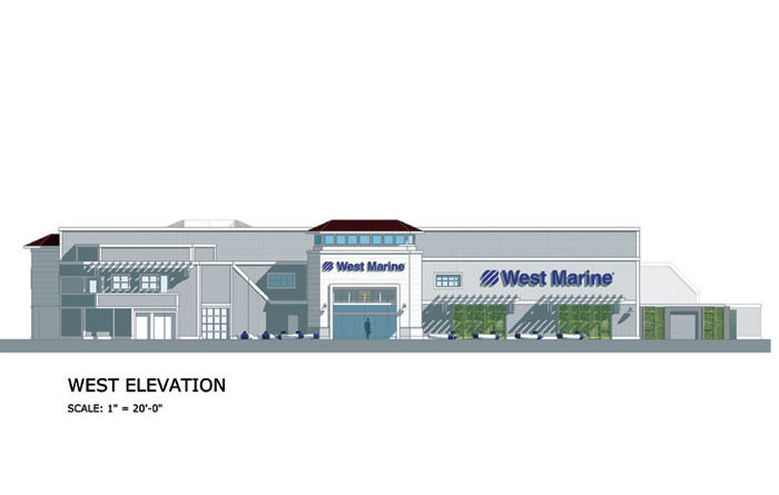 27,500-ft. West Marine Store Set for Via Lido Plaza