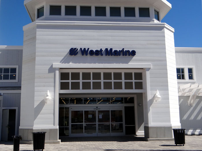 Opening Festivities Begin at New West Marine Store