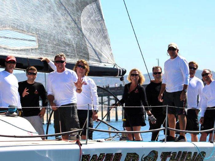 Wild Thing Wins 2013 BCYC Ocean Racing Series
