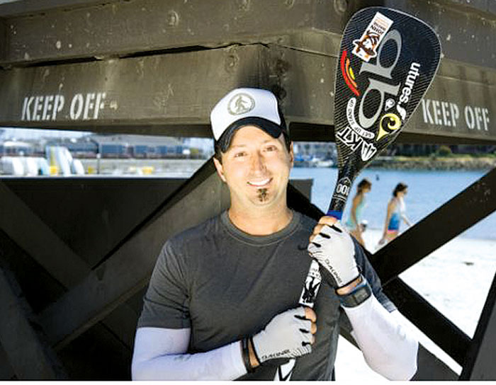 320-mile SUP Run Planned to Inspire PTSD Sufferers