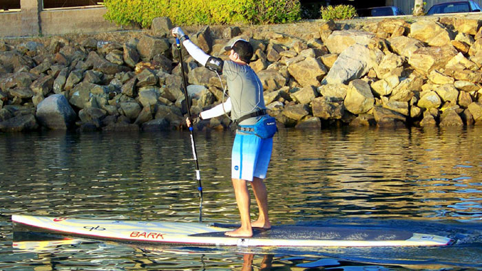 Paddleboarder Completes 45.2-mile Adventure