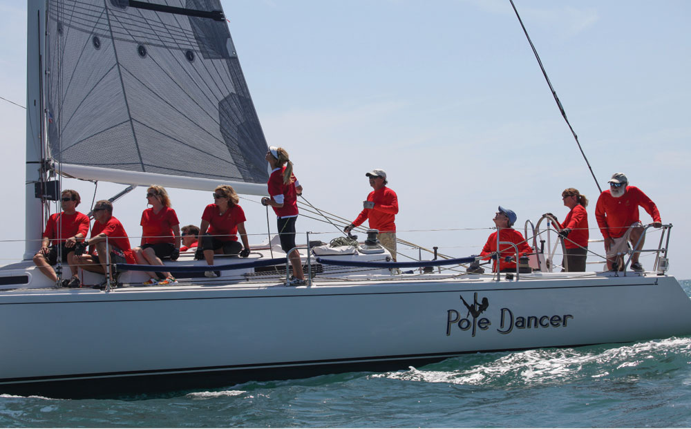 Oceanside YC hosts Women 4 Women Regatta