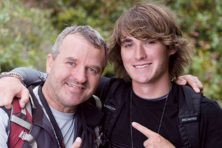 "Circumnavigator Zac Sunderland and Father Start ""Amazing Race"""