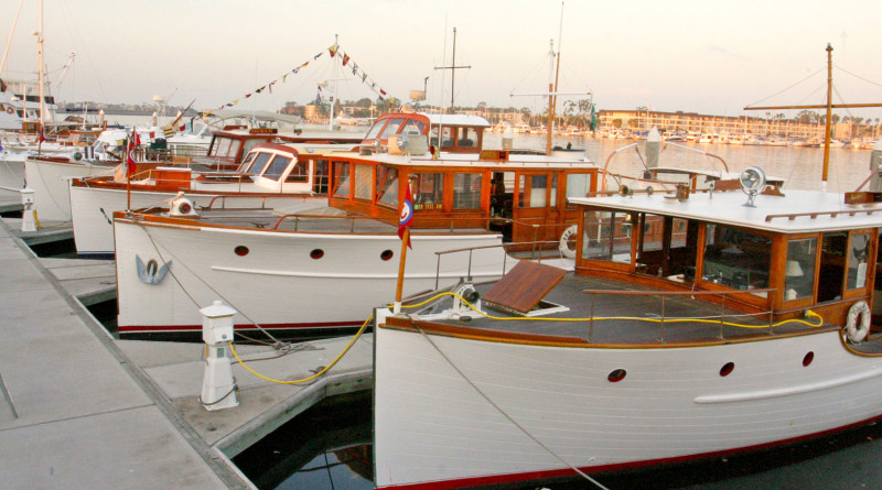 Old Fashioned Day in the Park features classic yachts