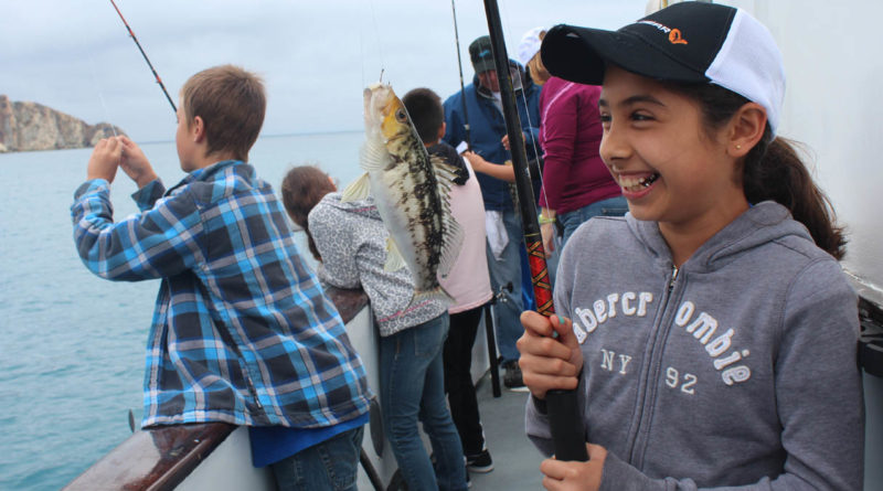 Catalina kids treated to a day of fishing