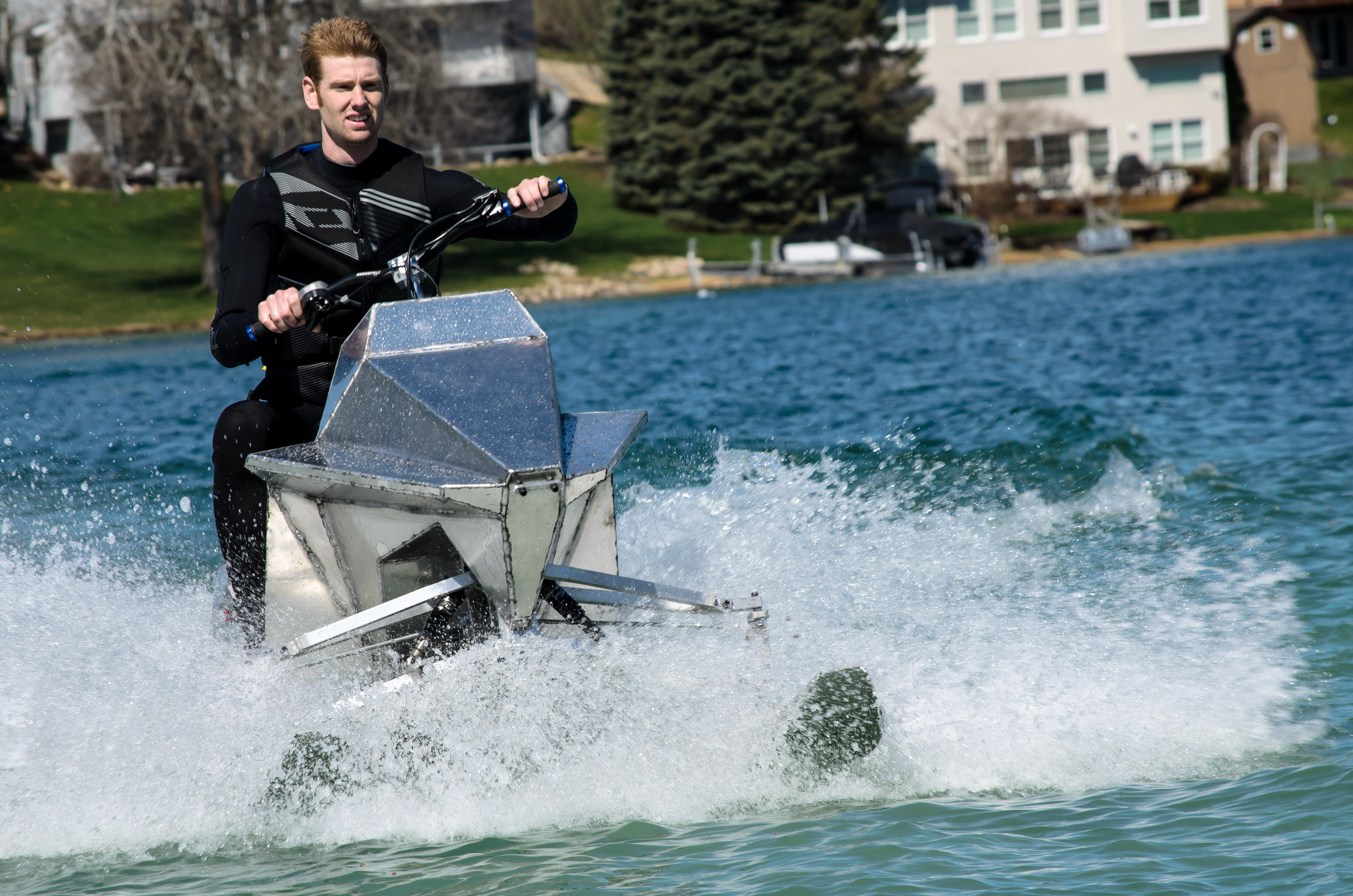 Jet blade offers speed agility on the water log