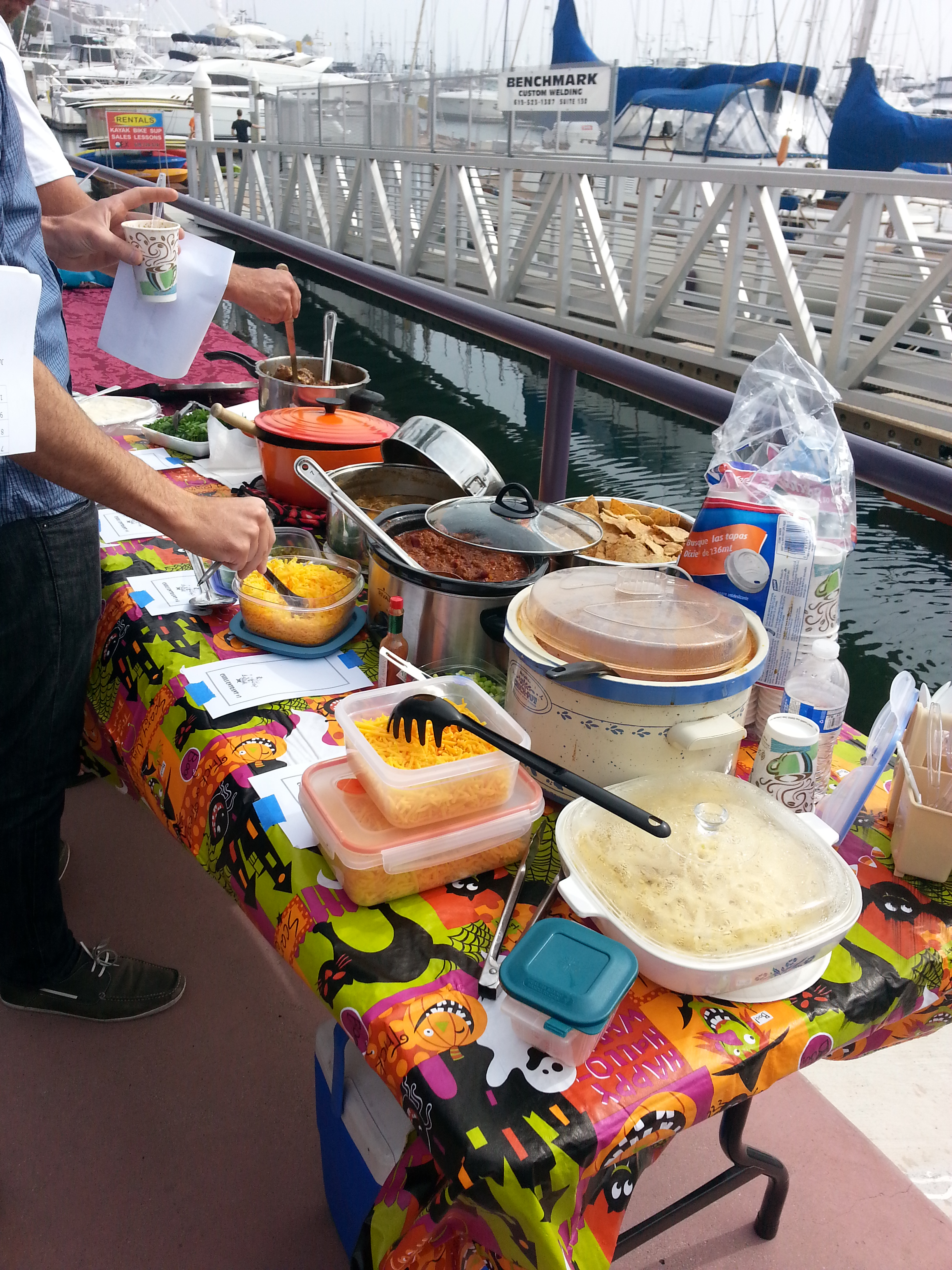 Sun Harbor Marina hosts Chili Cook Off, Oct. 18