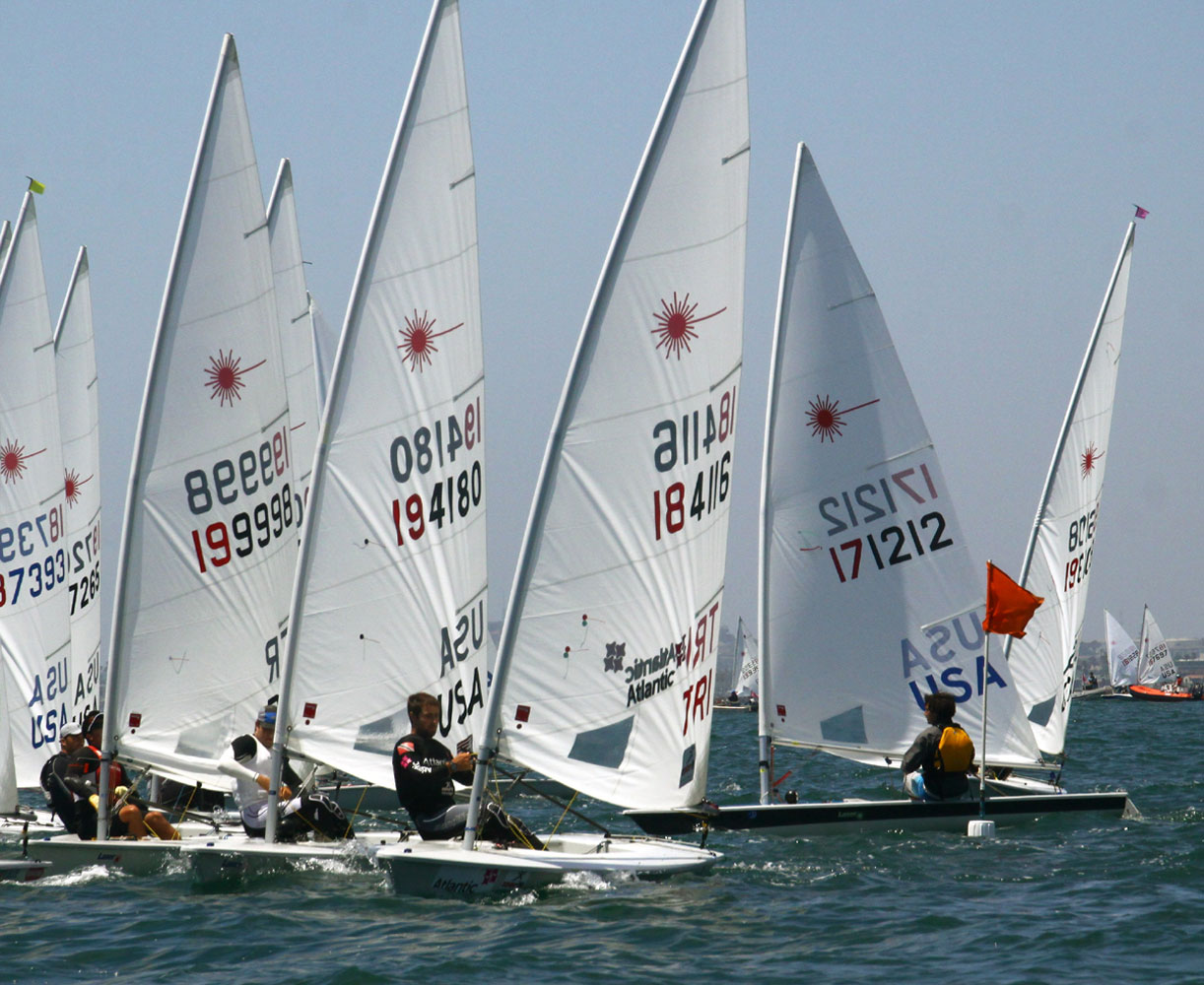 Buckingham, Railey sweep titles at Alamitos Bay YC