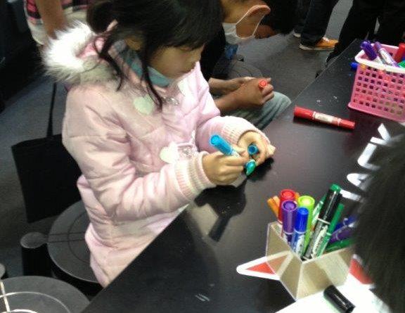 Shimano Hosts Painting Activity