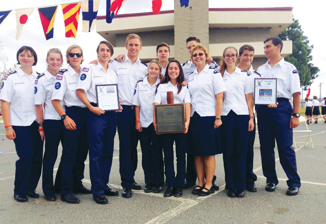 Dana Point's Mariners 936 Sea Scout ship scores high at Southwestern Rendezvous!