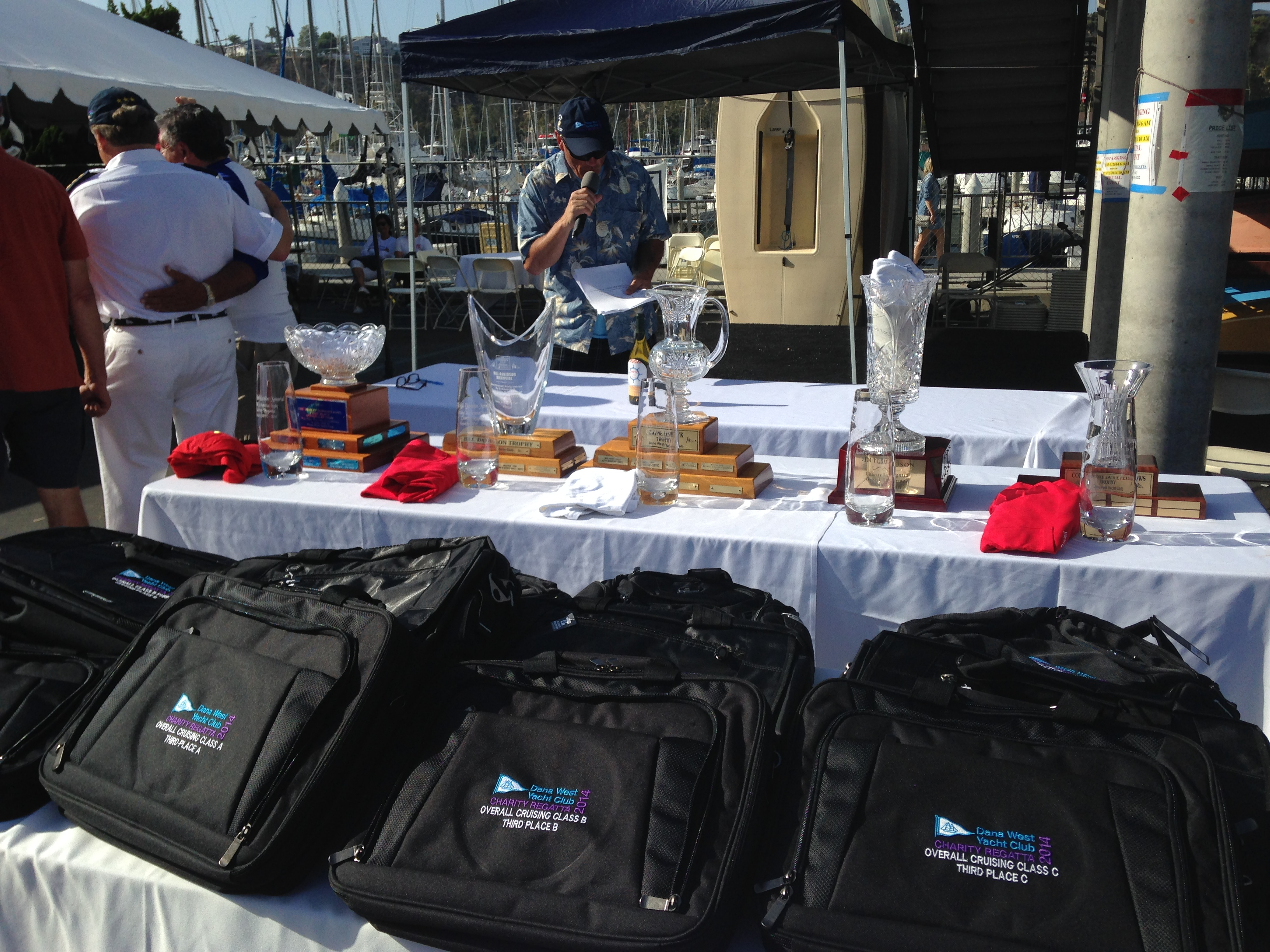 Large turnout for Dana West YC Charity Regatta