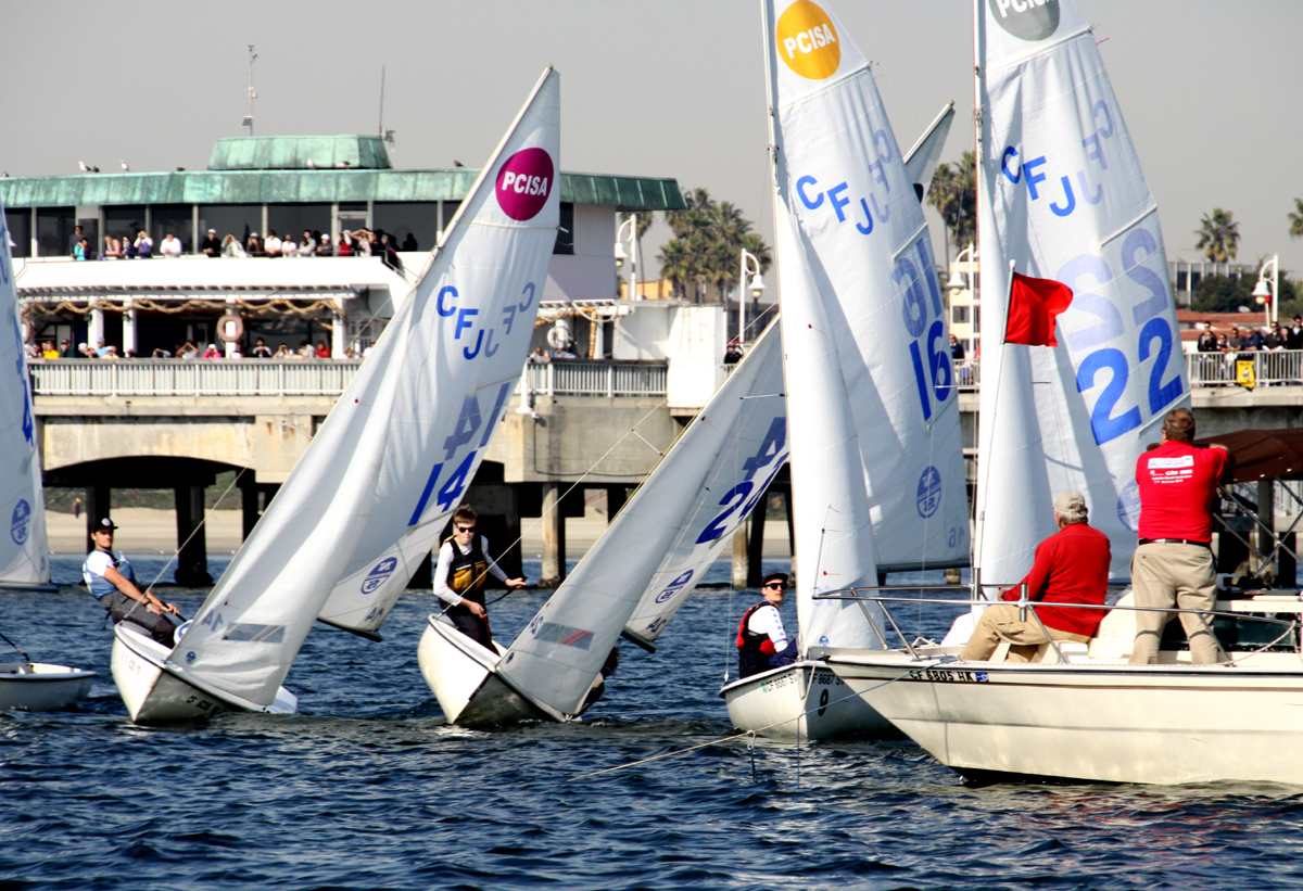 Georgetown University leads in 29th annual Rose Bowl Regatta