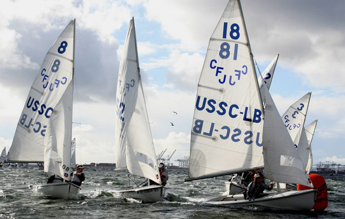Collegiate and High School Sailors Take Rose Bowl Regatta B