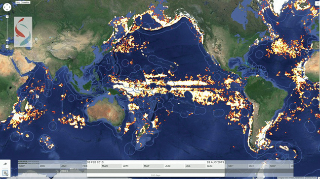 Google to use satellites to monitor illegal fishing