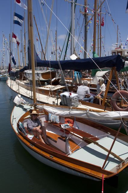 Dads cruise to San Diego Wooden Boat Festival