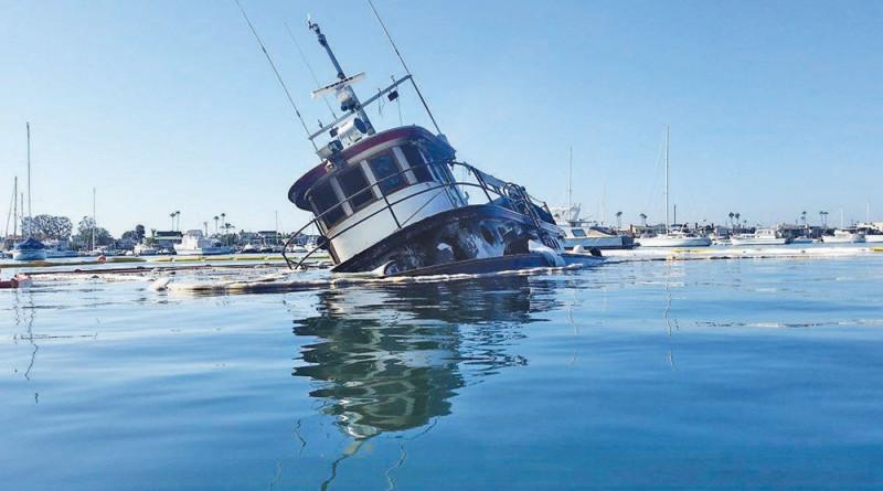 Fire destroys tugboat William B