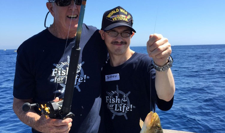 SoCal Tuna Club, Fish For Life take special needs children fishing