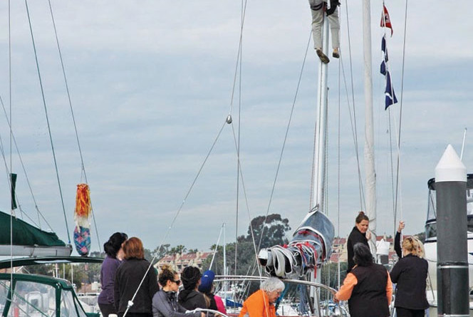 27th annual SCYA Women's Sailing Convention is the place to learn