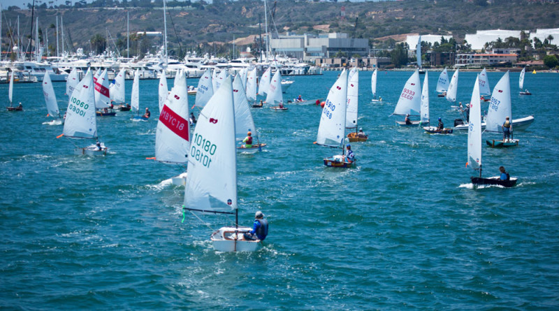Kids sail from Point Loma to Coronado in iconic San Diego regatta