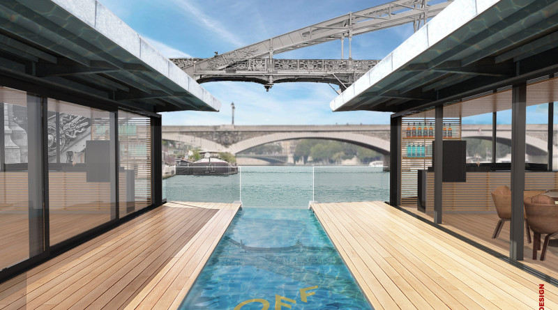 Floating hotel planned for Paris