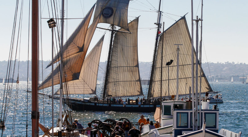 Festival of Sail brings tall ships to SD