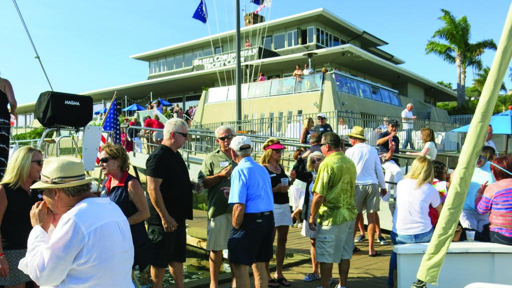 Bahia Corinthian YC in Newport Beach