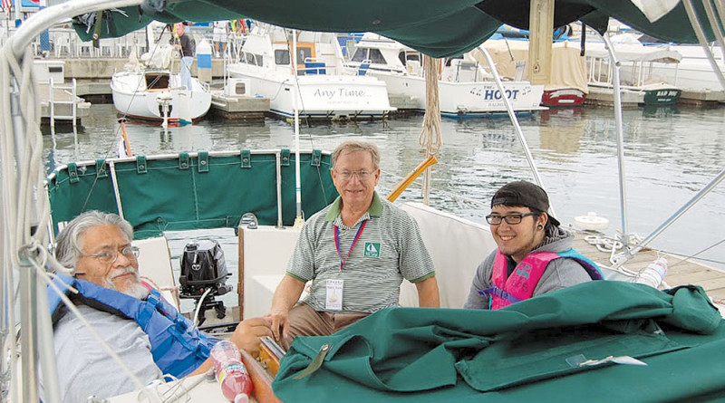 ON THE RADAR: ALYC hosts Sail for the Visually Impaired