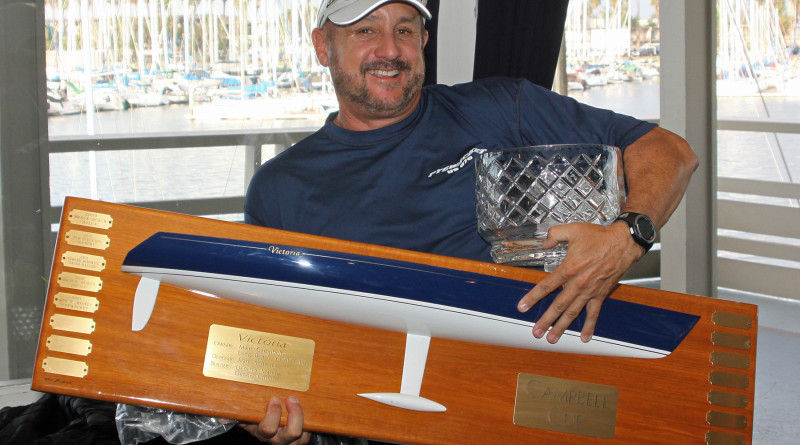 Roy Disney posts three-peat victory in Campbell Cup's West Coast 70 class