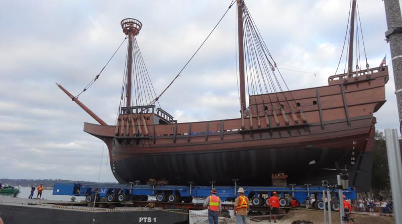 Dock Lines: Moving San Salvador