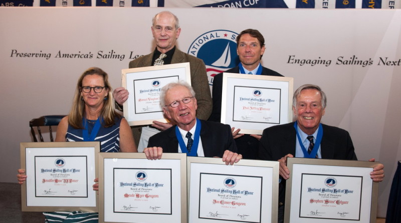 National Sailing Hall of Fame inducts sailing's significant contributors