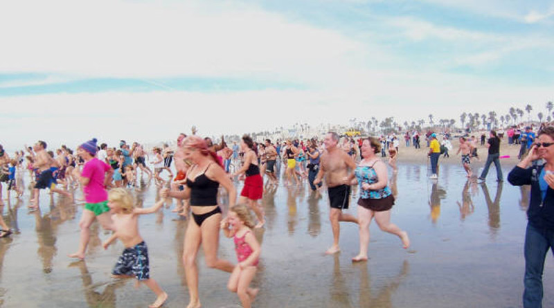 Take the plunge during the Surf City Splash